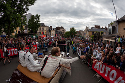 Packed streets of Le Mans for Grande Parade des Pilotes