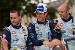 Rob Bell, Frederic Makowiecki, Bruno Senna