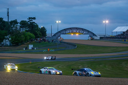 #88 Proton Competition Porsche 911 GT3-RSR: Christian Ried, Gianluca Roda, Paolo Ruberti, #97 Aston Martin Racing Aston Martin Vantage GTE: Darren Turner, Stefan Mücke, Peter Dumbreck
