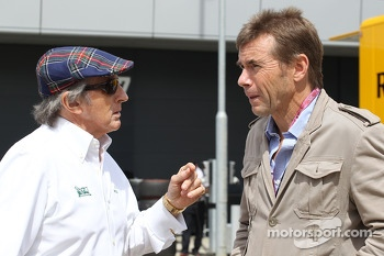 Jackie Stewart, with Paul Stewart