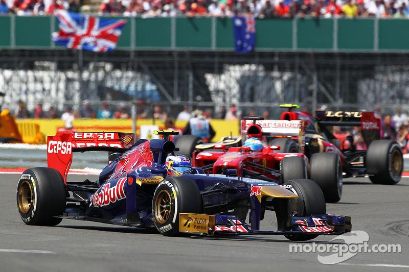 Daniel Ricciardo, Scuderia Toro Rosso STR8
