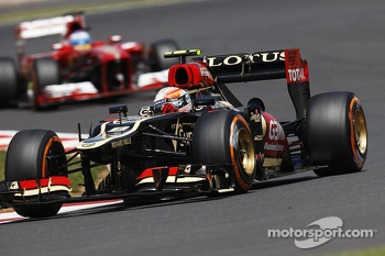 Romain Grosjean Lotus F1 E21