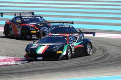 #50 AF Corse: Niek Hommerson, Louis Machiels, Andrea Bertolini, Ferrari 458 Italia