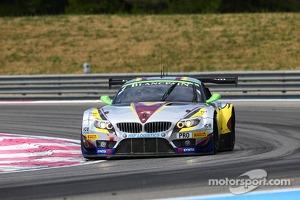 #4 Marc VDS Racing Team: Markus Palttala, Henri Moser, Nicky Catsburg, BMW Z4