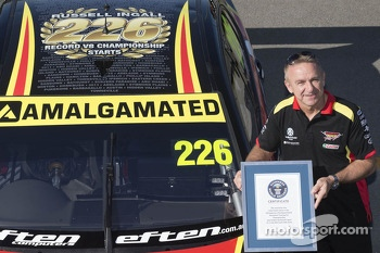 Russell Ingall, Supercheap Auto Racing makes his 226th start