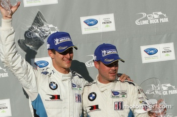 GT winners Dirk Muller, John Edwards