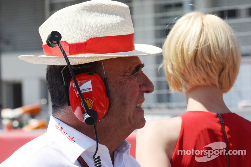 Emilio Botin, Santander Chairman on the grid
