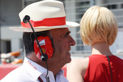 Emilio Botin, Santander Chairman on the grid