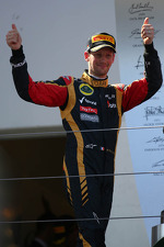 3rd place Romain Grosjean, Lotus F1 E21