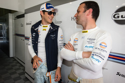 Bruno Senna and Darren Turner