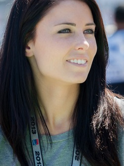 Kristen Dee, Girlfriend of James Hinchcliffe, Andretti Autosport Chevrolet