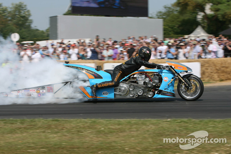 Ian King, Puma Gulf drag bike