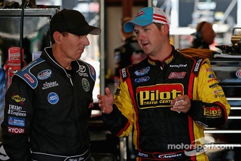 Mike Bliss and Michael Annett