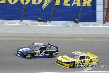 Trevor Bayne and Joey Logano