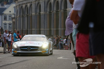 #22 Preci Spark Mercedes SLS AMG GT3: Godfrey Jones, David Jones, Gareth Jones, Philip Jones