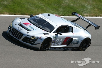 #24 Audi Sport Customer Racing Audi R8 Grand-Am: Filipe Albuquerque, Edoardo Mortara