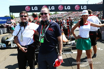 Marussia F1 Team guest on the grid