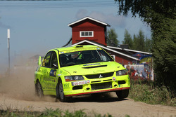 Fabrizio de Sanctis and Ingmar, Mitsubishi Lancer Evolution