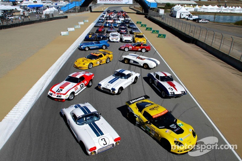 2014 Corvettes at Laguna