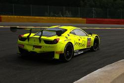 #111 Kessel Racing Ferrari 458 Italia: Pablo Paladino, Paolo Andreasi, Gaetano Ardagna Perez, Giuseppe Ciro