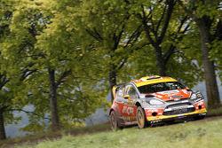 Martin Prokop, Michal Ernst, Ford Fiesta WRC #21, Jipocar Czech National Team