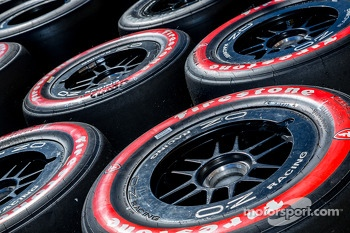 Firestone soft alternate tires ready for action