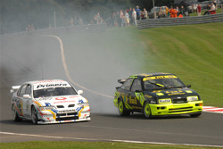 SImon Garrad, Ford Sierra RS500 and Richard Hawken, Nissan Primera