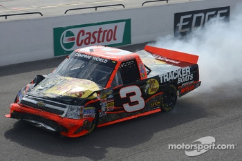 Ty Dillon limps to the finish