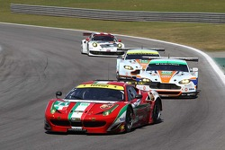 Kamui Kobayashi, Toni Vilander, AF Corse, Ferrari F458 Italia