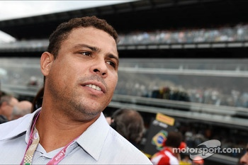 Ronaldo, Former Football Player on the grid