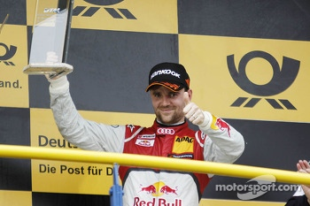 Third place Jamie Green, Audi Sport Team Abt Sportsline Audi RS 5 DTM