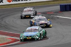 Augusto Farfus, BMW Team RBM BMW M3 DTM, Jamie Green, Audi Sport Team Abt Sportsline Audi RS 5 DTMm Bruno Spengler, BMW Team Schnitzer BMW M3 DTM