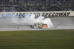 NASCAR-CUP: Race winner Matt Kenseth, Joe Gibbs Racing Toyota