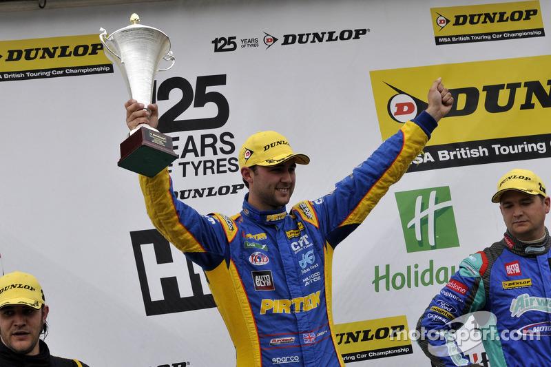 Round 22 Race Winner Andrew Jordan