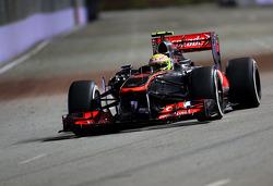 Sergio Perez, McLaren Mercedes  20