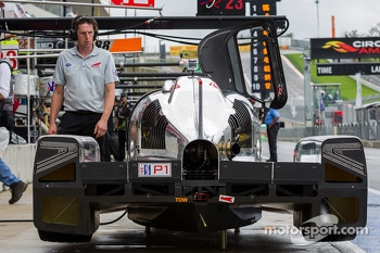 #0 DeltaWing Racing Cars DeltaWing LM12 Elan: Andy Meyrick, Katherine Legge