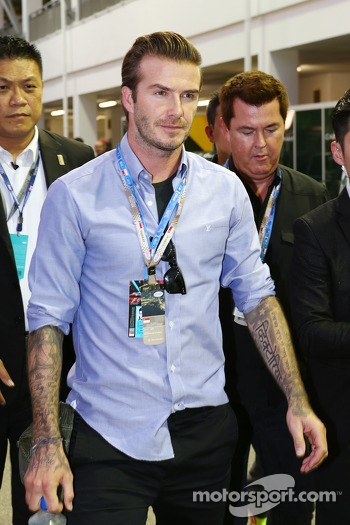David Beckham, Former Football Player