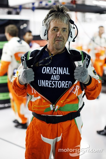 Neil Dickie, Sahara Force India F1 Team