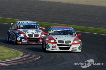 Tom Coronel, BMW E90 320 TC, ROAL Motorsport  and Mehdi Bennani, BMW E90 320 TC, Proteam Racing