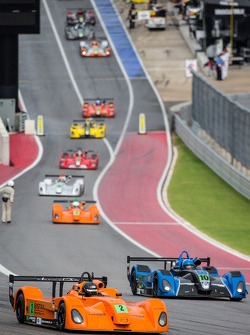 Cars head to formation lap: Christian Potolicchio