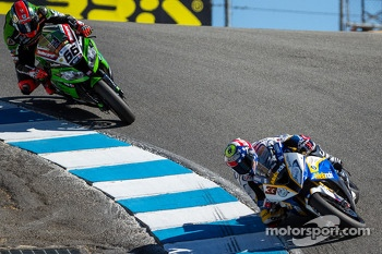 Marco Melandri and Tom Sykes