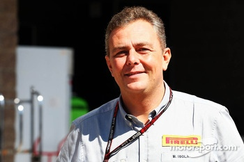 Mario Isola, Pirelli Racing Manager