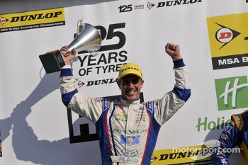 Round 26 Race Winner Jason Plato