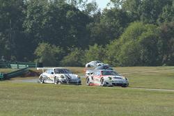 #06 CORE Autosport Porche 911 GT3 RSR: Patrick Long, Colin Braun           #22 Alex Job Racing Porsche 911 GT3 Cup: Cooper MacNeil, Jeroen Bleekemolen