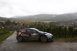 Evgeny Novikov and Ilka Minor, Ford Fiesta WRC, Qatar M-Sport WRT
