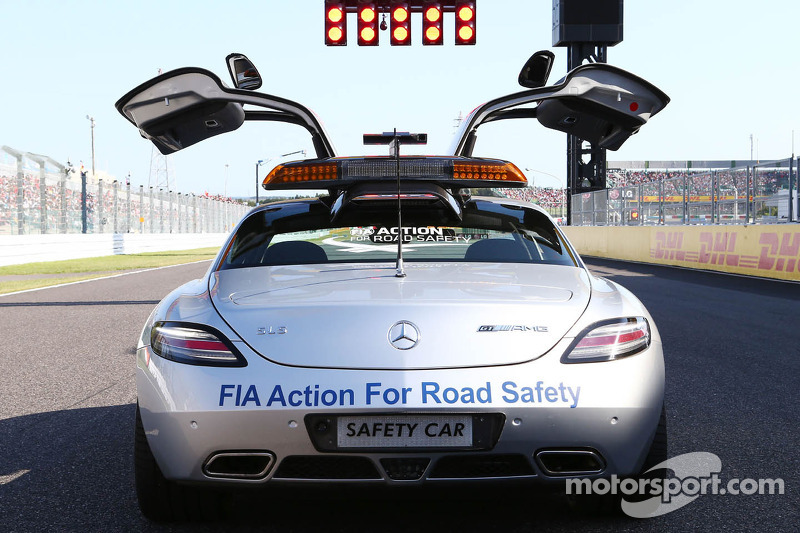 FIA Safety Car on the grid