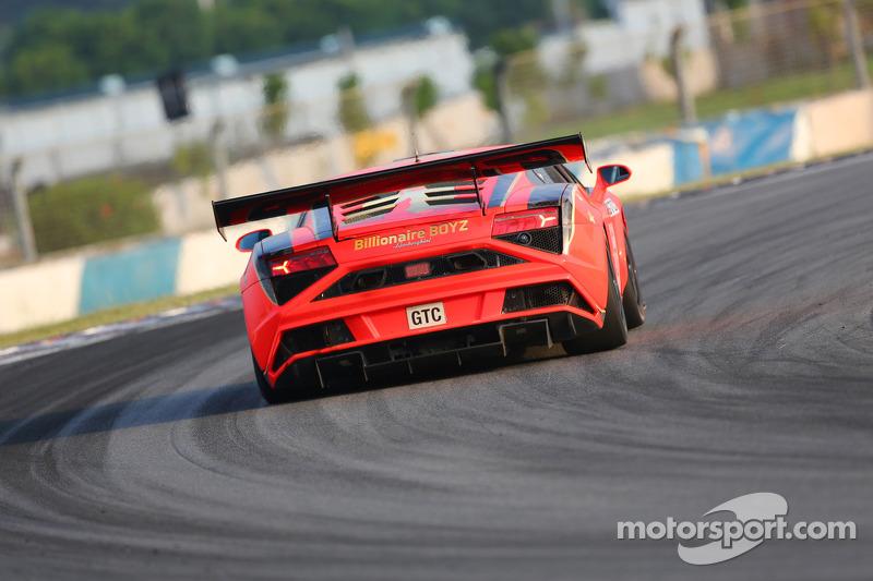 #37 BBT Lamborghini Gallardo GT3: Anthony Liu, Davide Rizzo, Massimiliano Wiser