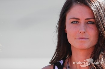 Kristen Dee, girlfriend of James Hinchcliffe