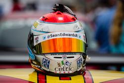 Helmet of Sean Edwards