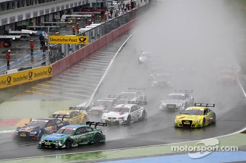 Start of the Race, Augusto Farfus, BMW Team RBM BMW M3 DTM